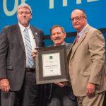 Robert J. Schutz receives educator of the year award
